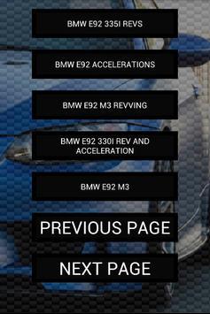 Engine sounds of E92 M3 335i screenshot 1