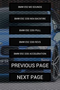 Engine sounds of E92 M3 335i screenshot 2