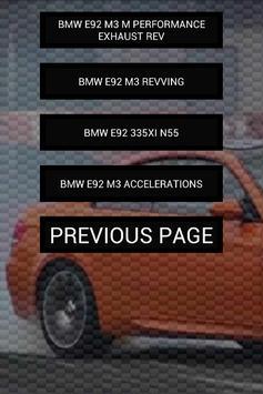 Engine sounds of E92 M3 335i screenshot 3