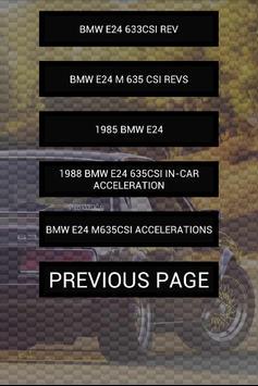 Engine sounds of E24 screenshot 1