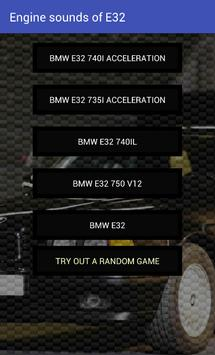 Engine sounds of E32 screenshot 1