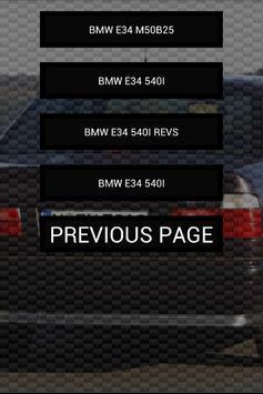 Engine sounds of E34 M5 540i screenshot 1