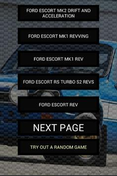 Engine sounds of Escort poster
