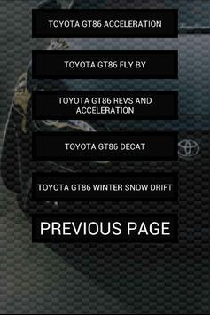 Engine sounds of GT86 screenshot 4