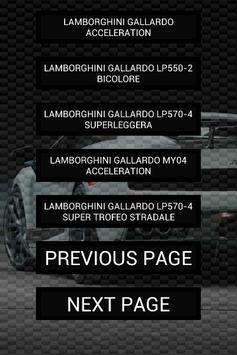 Engine sounds of Gallardo screenshot 1