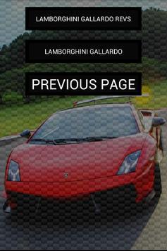 Engine sounds of Gallardo screenshot 2