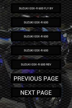 Engine sounds of GSX-R 600 apk screenshot