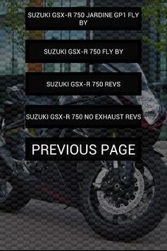 Engine sounds of GSX-R 750 apk screenshot