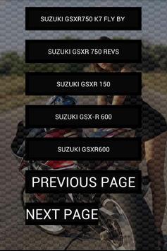 Engine sounds of GSXR screenshot 1