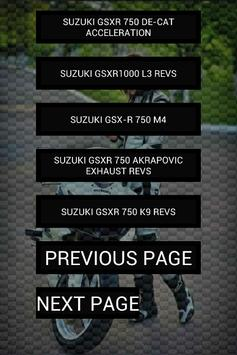 Engine sounds of GSXR screenshot 3