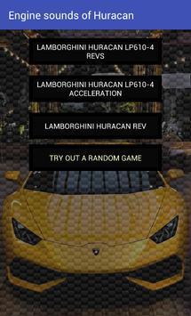 Engine sounds of Huracan apk screenshot