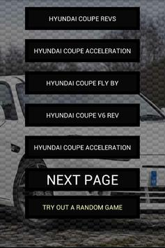 Engine sounds of Coupe poster