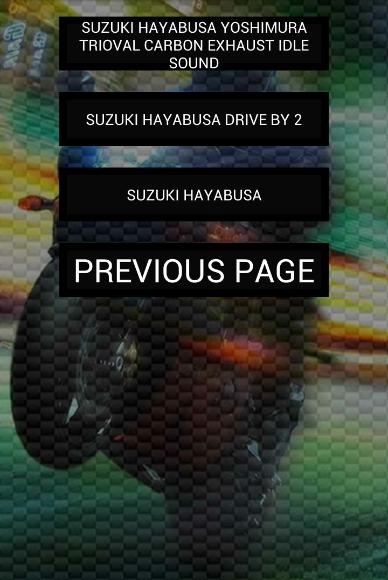 Engine sounds of Hayabusa for Android - APK Download