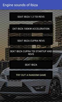 Engine sounds of Ibiza apk screenshot