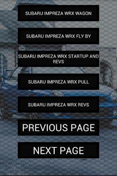Engine sounds of WRX Bugeye screenshot 1