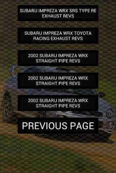 Engine sounds of WRX Bugeye screenshot 2