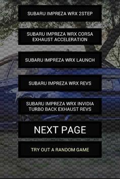 Engine sounds of WRX Stinkeye poster