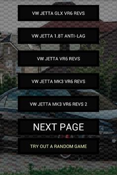 Engine sounds of Jetta poster