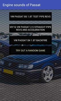 Engine sounds of Passat apk screenshot