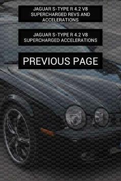 Engine sounds of S-Type R apk screenshot