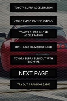 Engine sounds of Supra poster