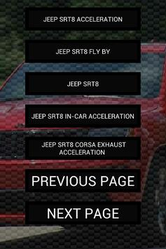 Engine sounds of SRT8 screenshot 1