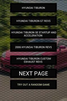 Engine sounds of Tiburon poster