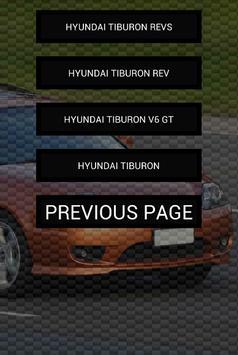 Engine sounds of Tiburon apk screenshot