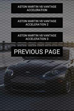 Engine sounds of V8 Vantage screenshot 1