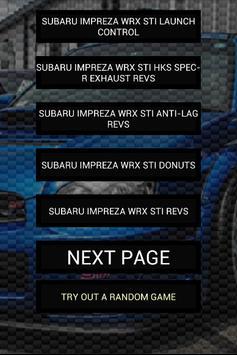 Engine sounds of STi Blobeye poster