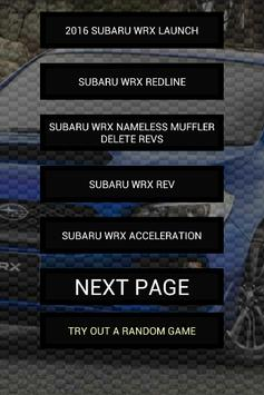 Engine sounds of WRX 2015+ poster