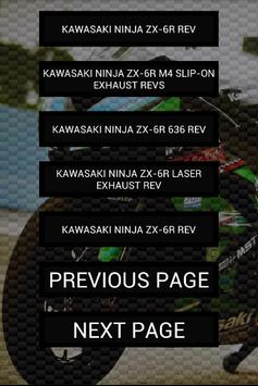 Engine sounds of Ninja ZX-6R apk screenshot