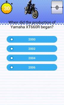 Quiz for XT600 Fans screenshot 2