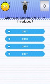 Quiz for YZF-R1 M Fans screenshot 2