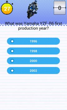 Quiz for YZF-R6 Fans screenshot 2