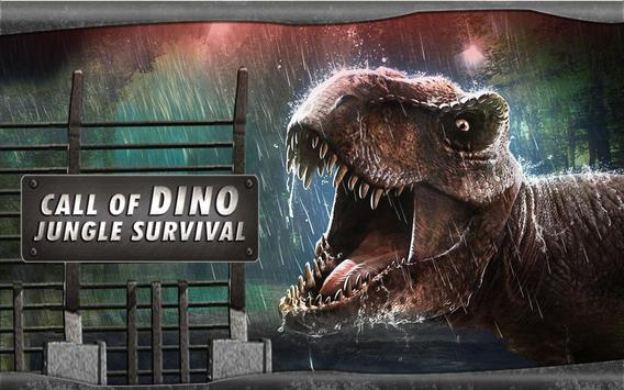 Call of Dino : Jungle Survival poster