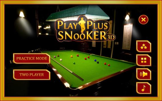 Play Plus Snooker 3D poster