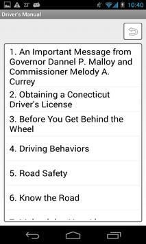 Florida Driver's Manual poster