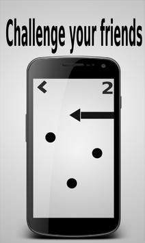 Touches the point with arrow apk screenshot