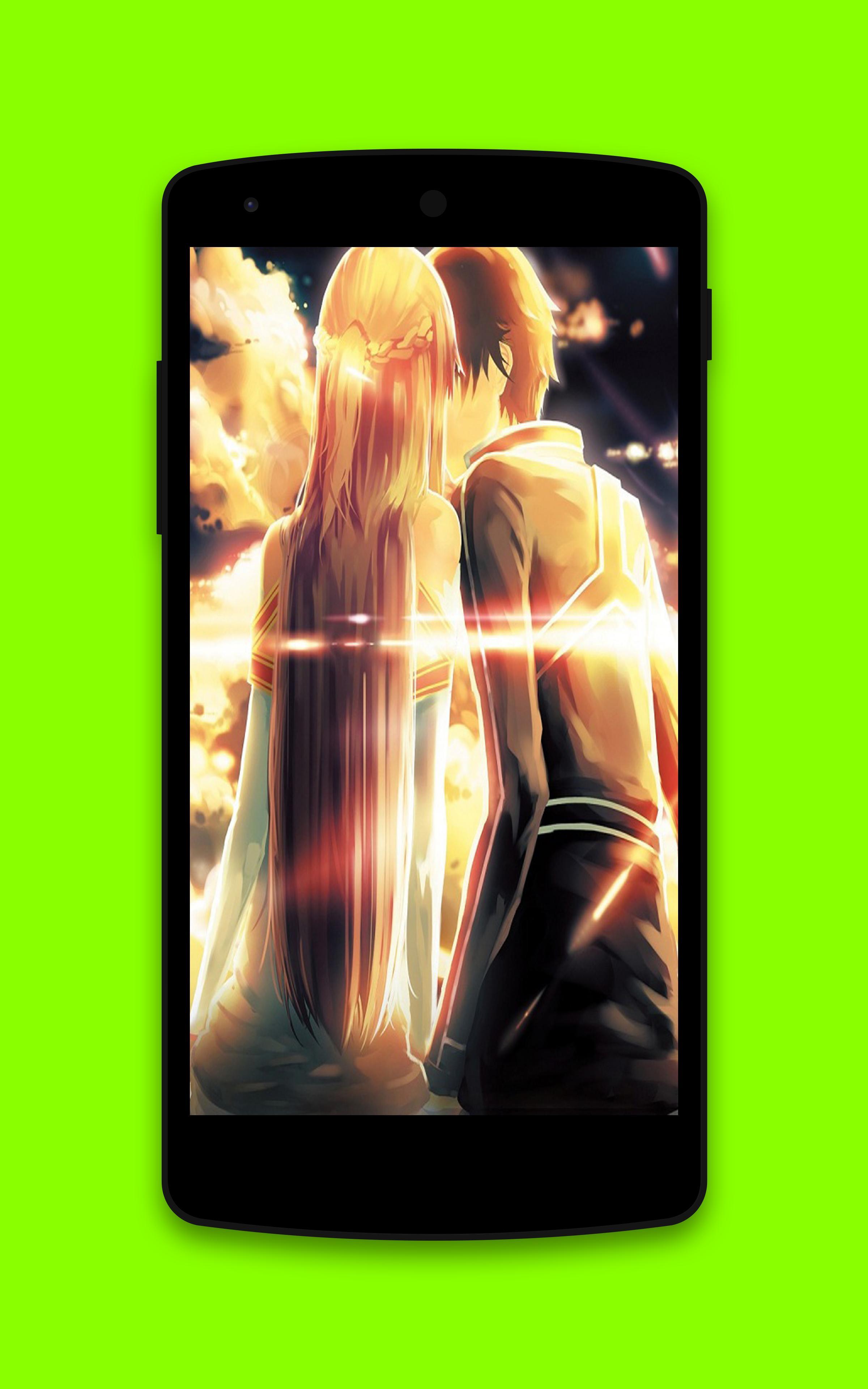 Kirito Asuna HD Wallpaper poster
