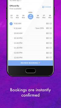 Fleek : Salon & Spa Booking apk screenshot