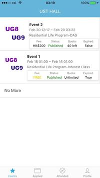 HKUST UG Hall VII IX - Student screenshot 3