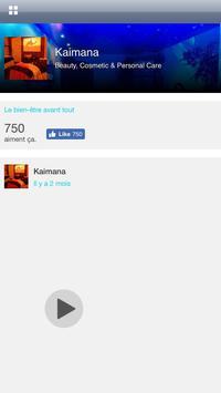 Kaïmana Spa apk screenshot