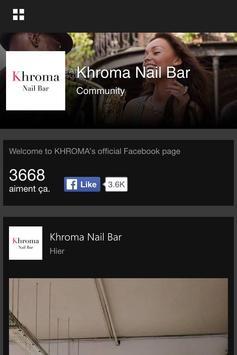 Khroma Nail Bar apk screenshot