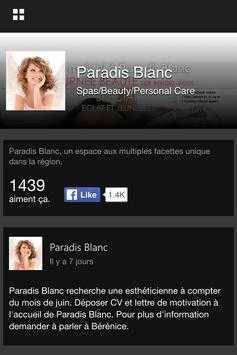 Paradis Blanc poster