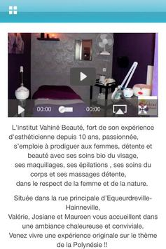 Vahiné Beauté screenshot 1