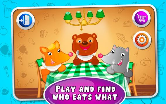 Feed the Pets - kids game poster
