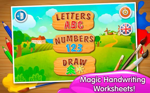 ABC Handwriting Worksheets poster