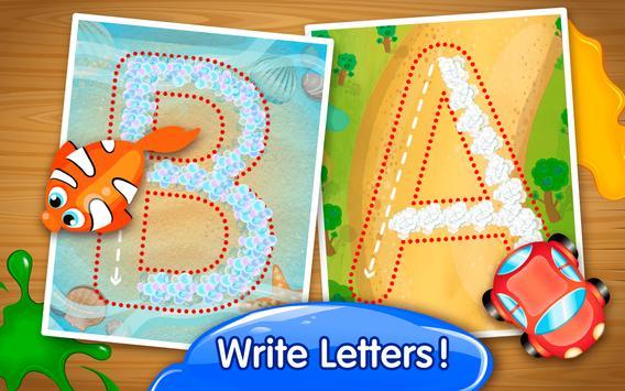 ABC Handwriting Worksheets apk screenshot