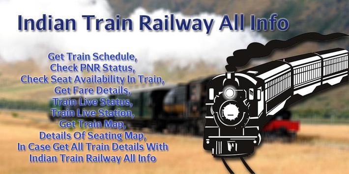Indian Train Railway All Info poster